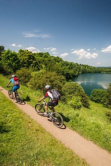 Mountainbike Eifel - Mountainbiketour bei Daun