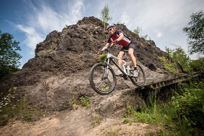 Mountainbike Eifel - Mountainbike Action in der Eifel