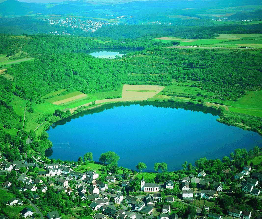 Vulkansee Eifel